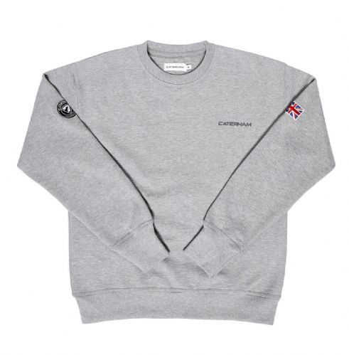 CATERHAM GREY SWEAT SHIRT
